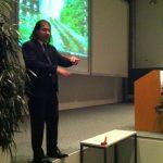 Key note speaker Nima Arkani-Hamed (Institute for Advanced Study, Princeton, USA) gave an inspiring talk on
