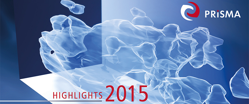 Cover PRISMA Highlights 2015